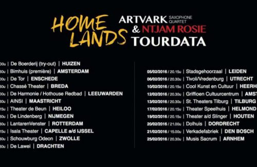 Homelands tour schedule