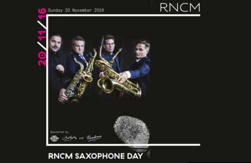 RNCM Saxophone Day