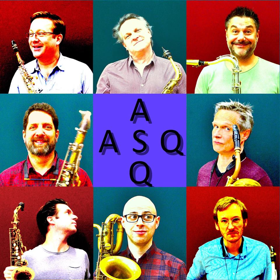 Artvark & the great Apollo Saxophone Quartet